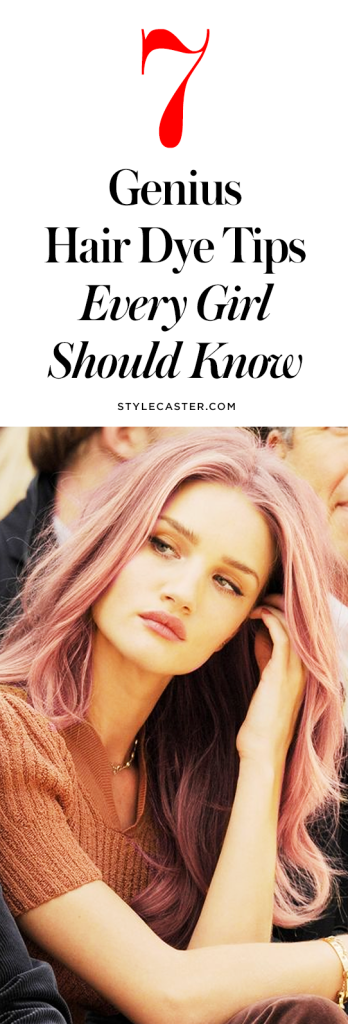 7 Genius DIY hair dye tips and tricks every girl should know