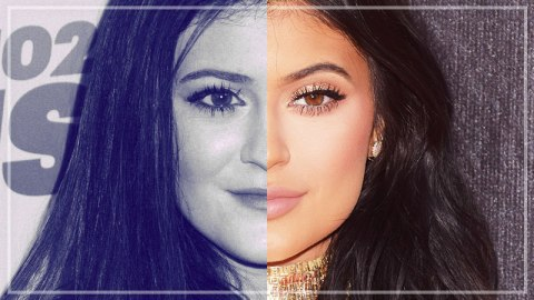Kylie's Changing Face: A Flowchart  | StyleCaster