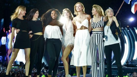 """Every Celeb in T. Swift's """"1989"""" Squad 
