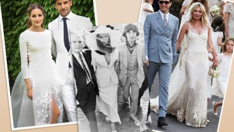 30 Iconic Celebrity Wedding Dresses | StyleCaster