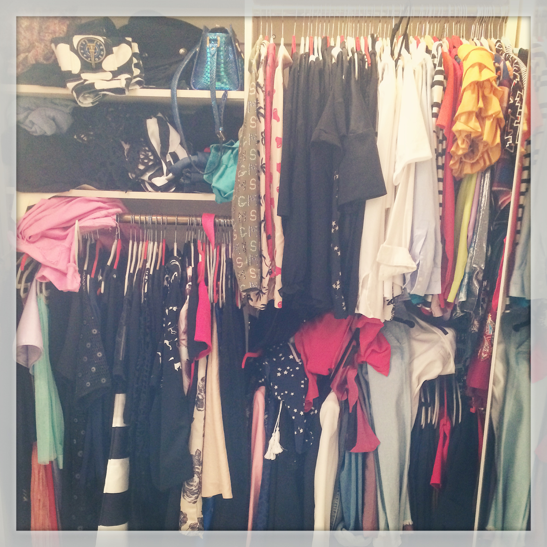 best closet organizing trick tip
