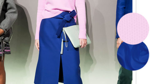 Colors to Pair: Pale Pink and Royal Blue  | StyleCaster