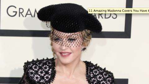 13 Amazing Madonna Covers    StyleCaster