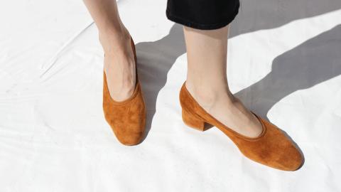 Trending: Suede Block Heels  | StyleCaster