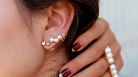 Mix and Match Your Earrings Like a Pro   StyleCaster