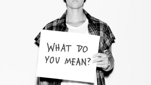 "Bieber Asks ""What Do You Mean"" 26 Times 