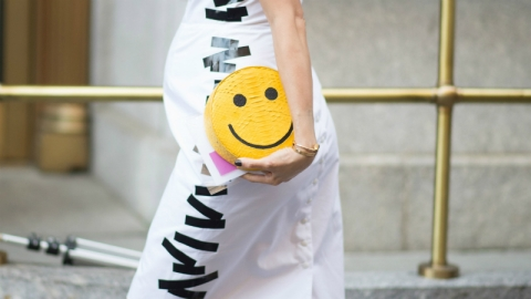 The Smiley Face Got a Chic Makeover | StyleCaster