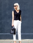 Black and White Outfits to Wear to Work