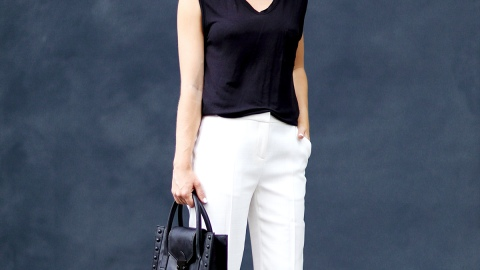 Black and White Outfits to Wear to Work | StyleCaster