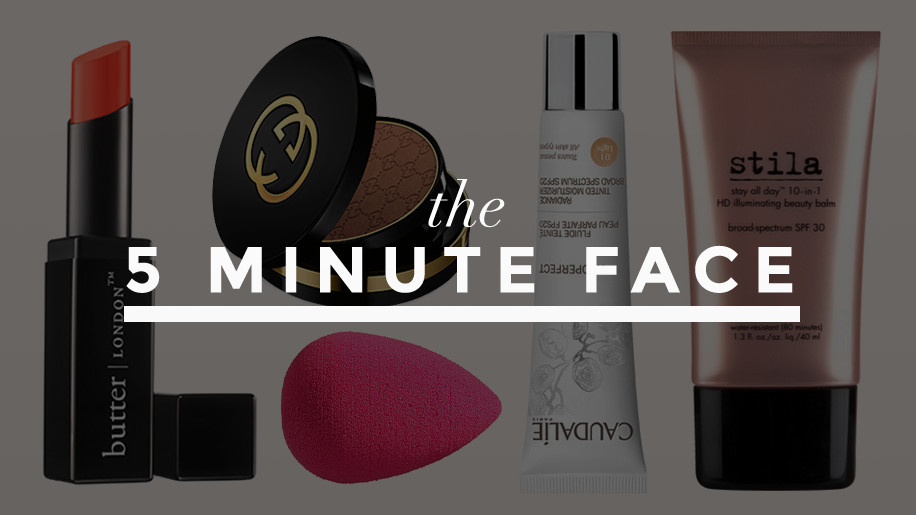 5 minute face makeupproducts 2 What Top Makeup Artists Use When They Have Five Minutes or Less