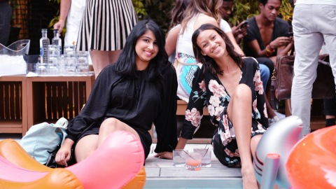 Our End-of-Summer Pool Party  | StyleCaster