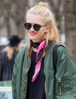 Army Green: All Over NYFW's Streets