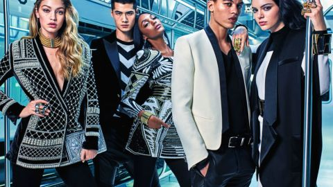 First Look: The Balmain x H&M Campaign | StyleCaster