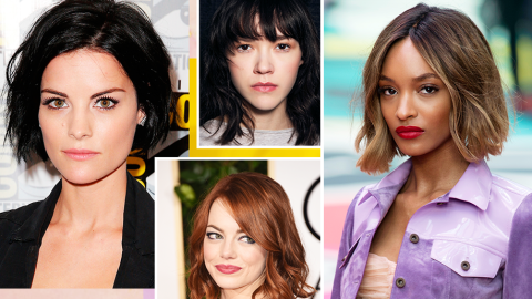 Fall's Most Modern Hairstyle: The Blunt Chop | StyleCaster
