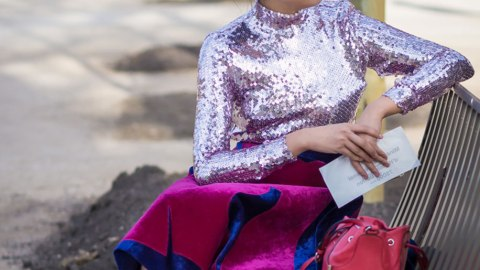 24 Ways to Pull Off Daytime Sequins | StyleCaster
