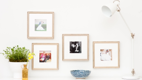 The Easiest Way to Frame Your Artwork | StyleCaster