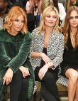 Every It-Brit Sat FROW at Burberry