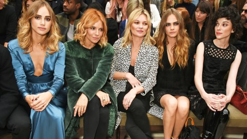 Every It-Brit Sat FROW at Burberry | StyleCaster