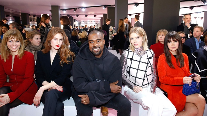 A Complete Guide to Kanye West Smiling in the Front Row