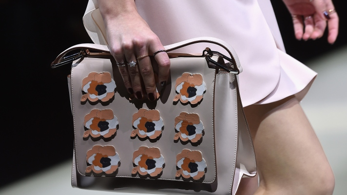 Molto Bella! Statement Shoes and Bags Rule the Milan Runways