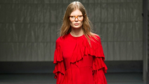 A Case for the Bright-Red Day Dress  | StyleCaster