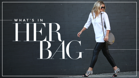 Our EIC's Work Bag Essentials | StyleCaster