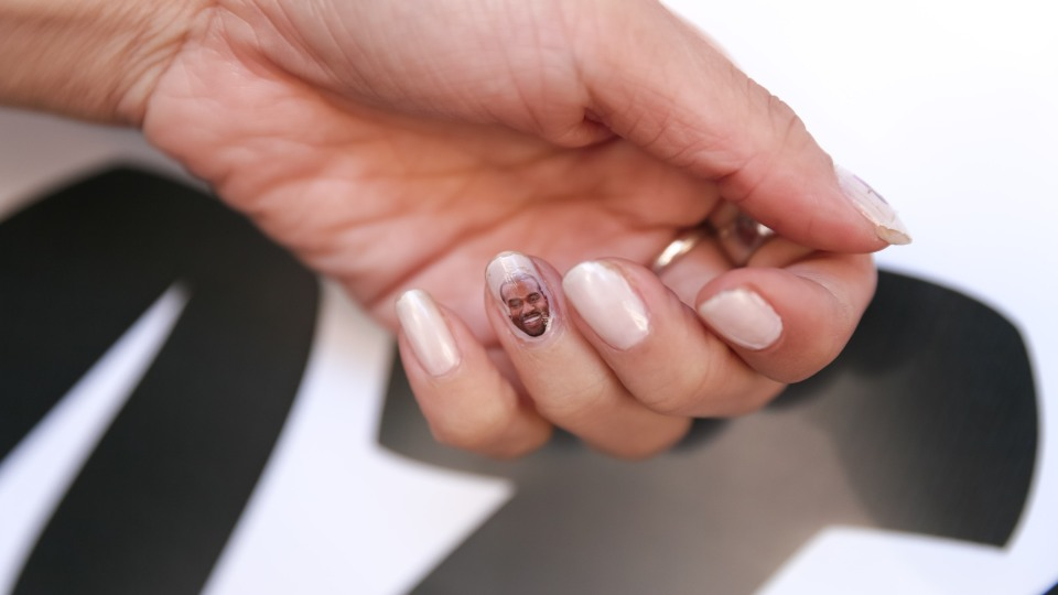 Found: Emotional Kanye West Nail Decals  | StyleCaster