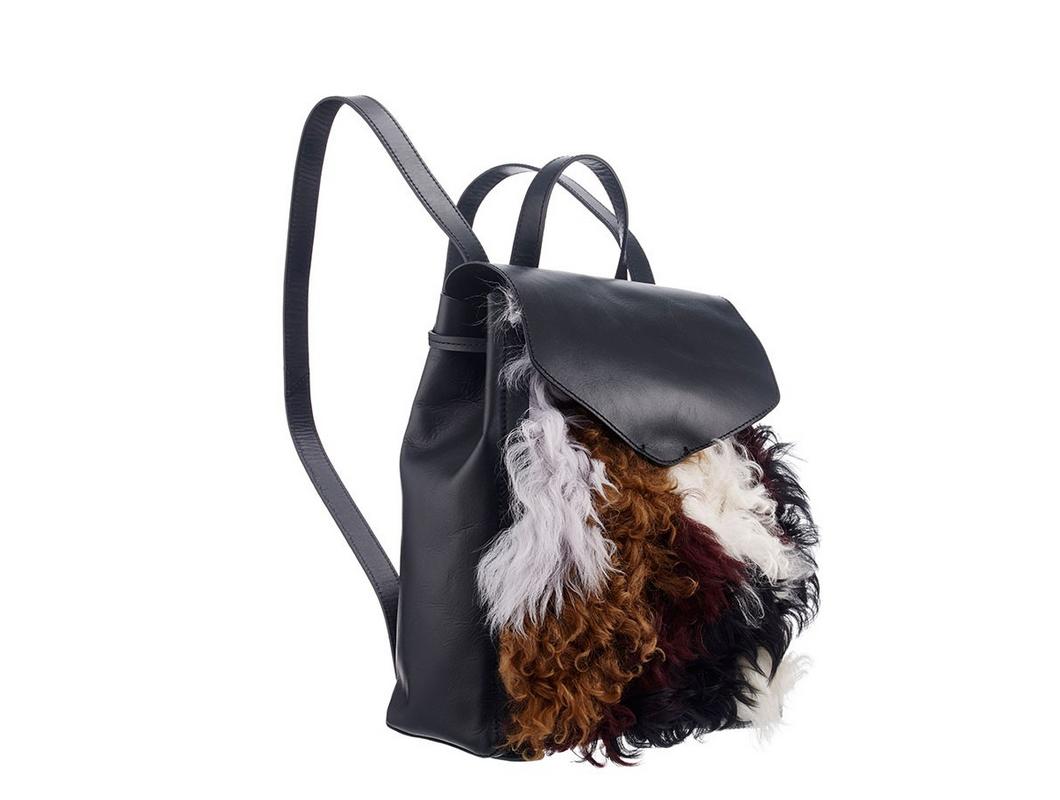 Loeffler Randall Shearling Backpack