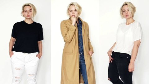 Finally: Minimalist Plus-Size Clothing | StyleCaster