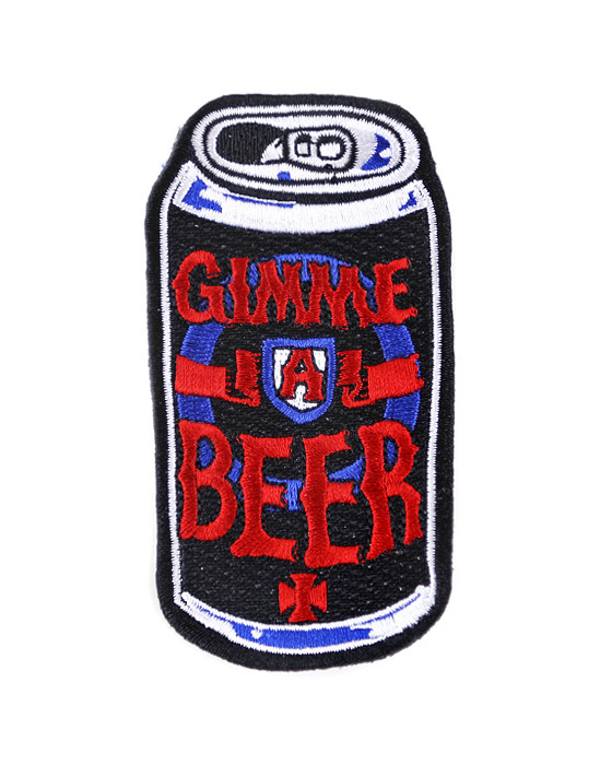 patch gimmeabeer 10 Ridiculously Cool Iron On Patches to Customize Your Denim Jacket