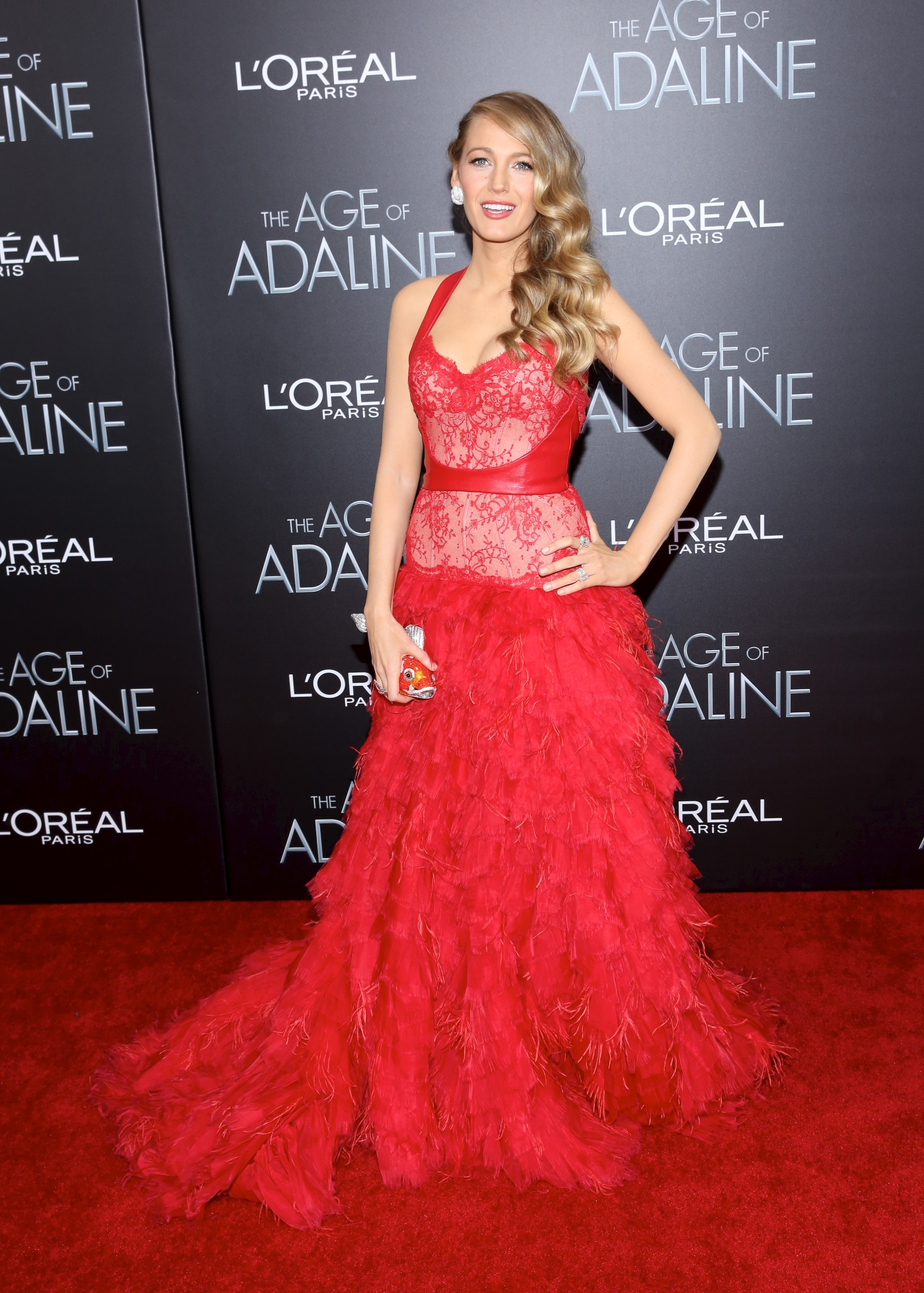 'The Age of Adaline' premiere at AMC Loews Lincoln Square 13 theater on April 19, 2015 in New York City. Featuring: Blake Lively Where: New York, New York, United States When: 20 Apr 2015 Credit: Andres Otero/WENN.com