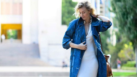 5 Perfect Denim Trench Coats   StyleCaster