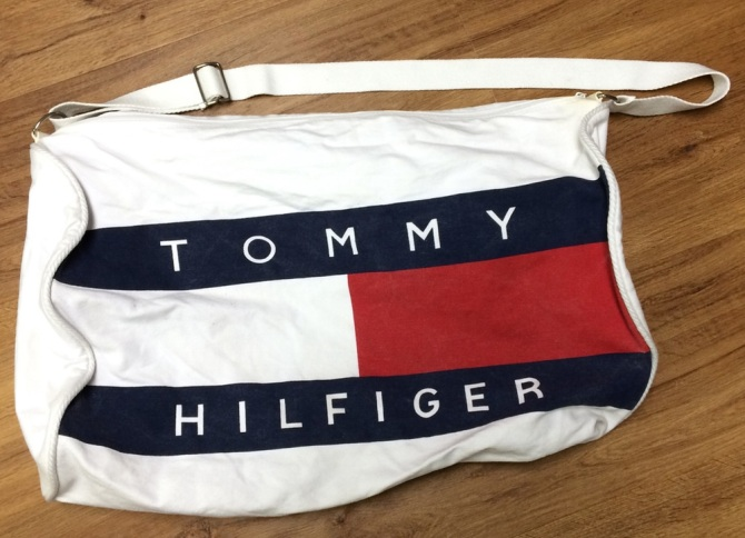 bag What 90s Era Tommy Hilfiger Taught Me About Personal Style