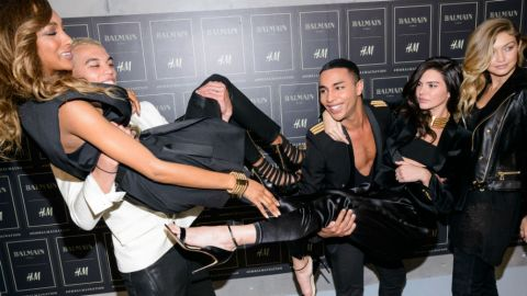 Inside Balmain x H&M's Epic Launch Party | StyleCaster
