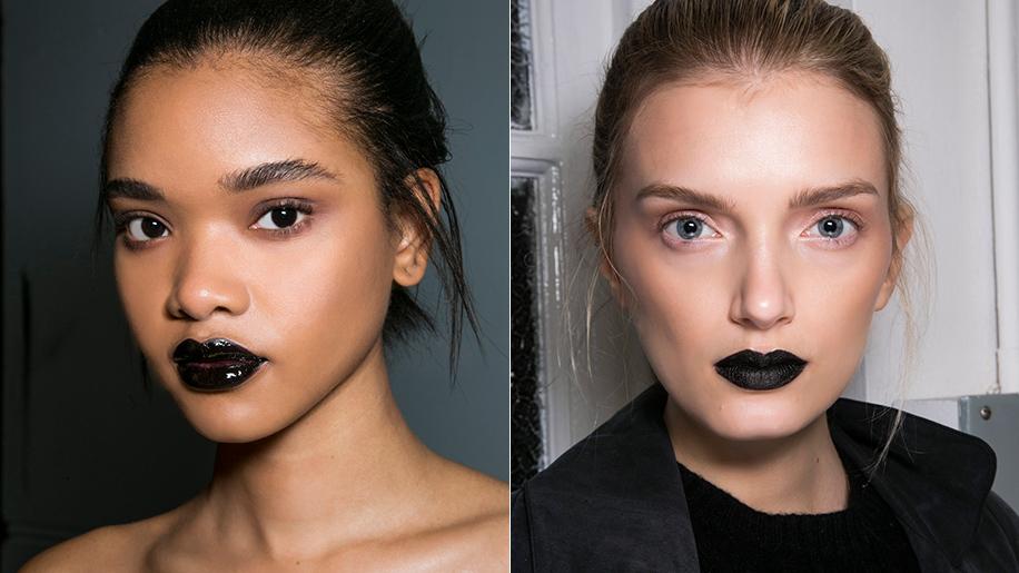 black lipstick giles deacon
