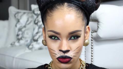 Halloween Cat-Eye Makeup Tutorials to Master | StyleCaster