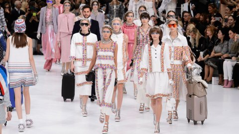 9 Must-See Moments from Chanel's Airline Show | StyleCaster