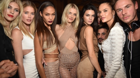 All the Models at Balmain's After-Party   StyleCaster