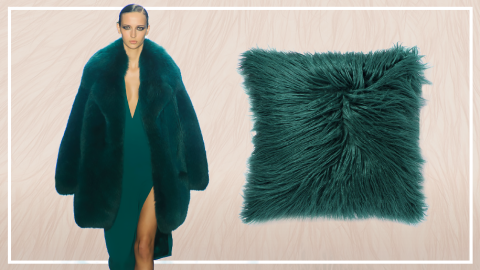 9 Fur Pillows Inspired by the Runway | StyleCaster