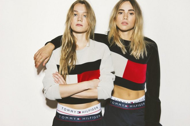 holding mytheresa tommy What 90s Era Tommy Hilfiger Taught Me About Personal Style