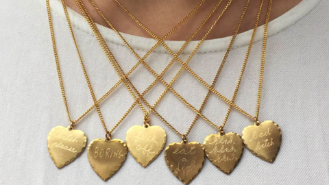 A Smart-Ass Necklace That Says What You're Thinking | StyleCaster