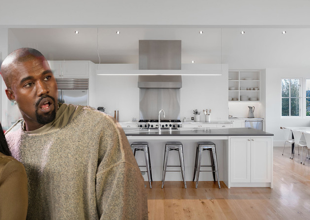 what kanye's white house kitchen would look like