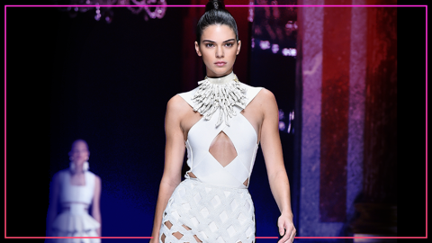 Kendall Jenner's Changing Runway Face: A Flowchart | StyleCaster