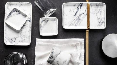 Trending Now: White Marble Home Decor | StyleCaster