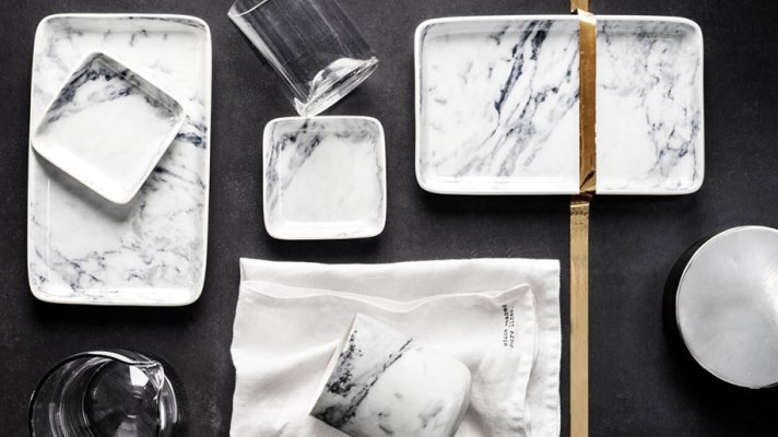 White Marble Home Decor is Trending: 30 Pieces to Buy Now