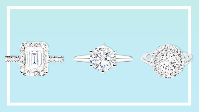 moissanite engagement ring trend 6 Is Moissanite the Next Big Engagement Ring Trend?