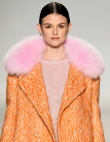 Fall's Coolest Color Combo: Orange and Pale Pink