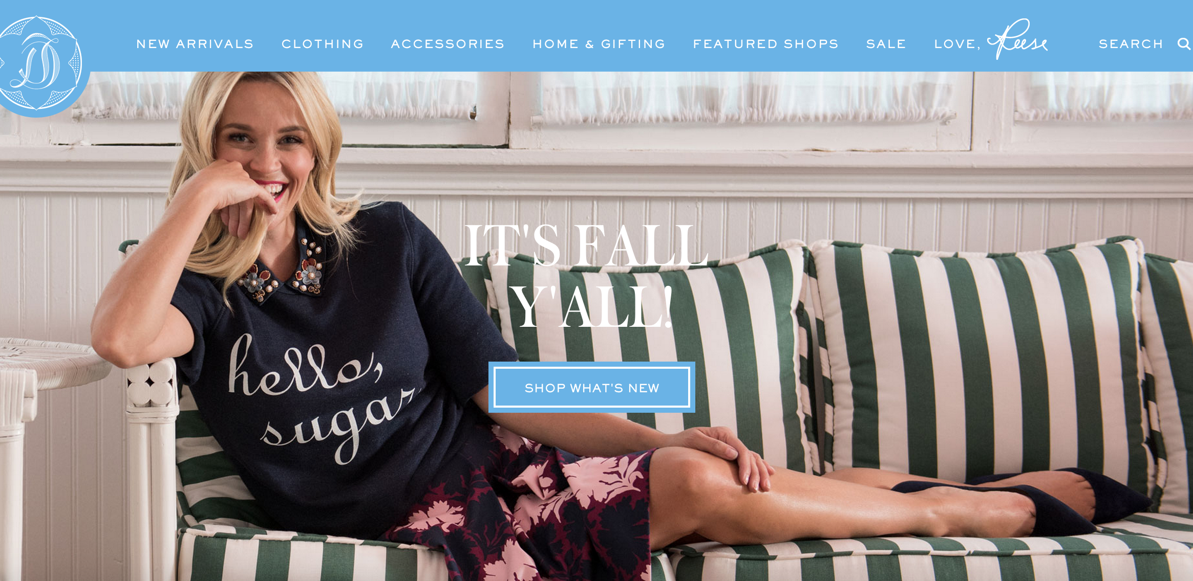 reese witherspoon draper james fall yall Why Do Some Celebrity Lifestyle Sites Fail While Others Thrive?