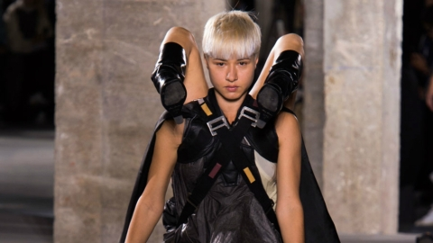 Rick Owens Makes a Case for Human Backpacks | StyleCaster