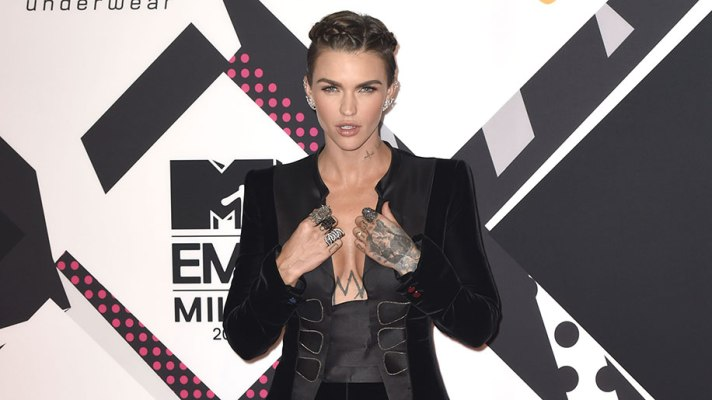 Ruby Rose Slayed the MTV EMAs Red Carpet